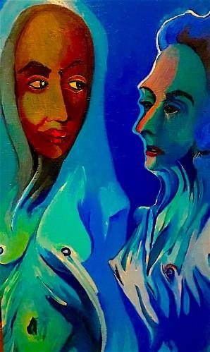 Mystical Conversation © Alfred Eaker, 2019