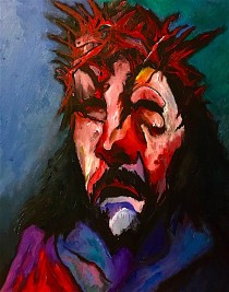 Christ crowned with thorns © 2019, Alfred Eaker