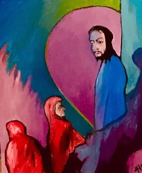 Christ Healing The Lepers ©Alfred Eaker 2018