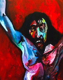 Christ is scourged © 2019, Alfred Eaker