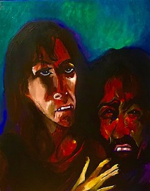 Christ meets his Mother on the way to the cross © 2019, Alfred Eaker