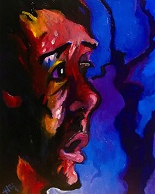 I have sinned in betraying innocent blood, (Judas' Regret ) ©️Alfred Eaker, 2019