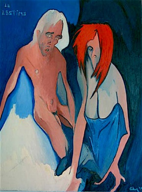 La Lastima (Pieta ) © 1999 Alfred Eaker