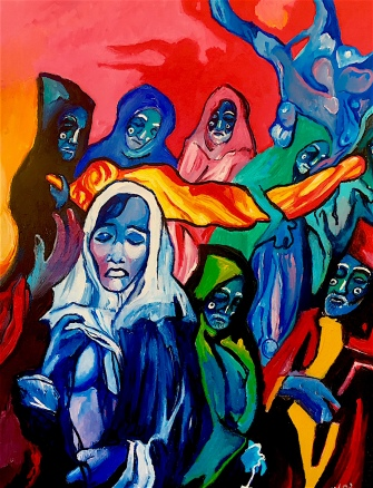 Our Lady of Sorrows ©2018 Alfred Eaker
