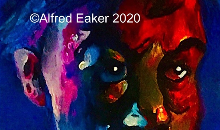 "[Detail] ""Peter was afraid, and when he began to sink, he cried out"" © Alfred Eaker 2018"